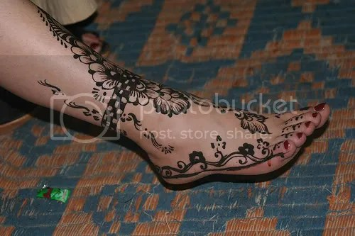 Foot Tattoos :: Spiffy Henna picture by ImmerUndImmer - Photobucket