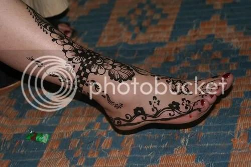 Foot Tattoos :: Spiffy Henna picture by ImmerUndImmer - Photobucket