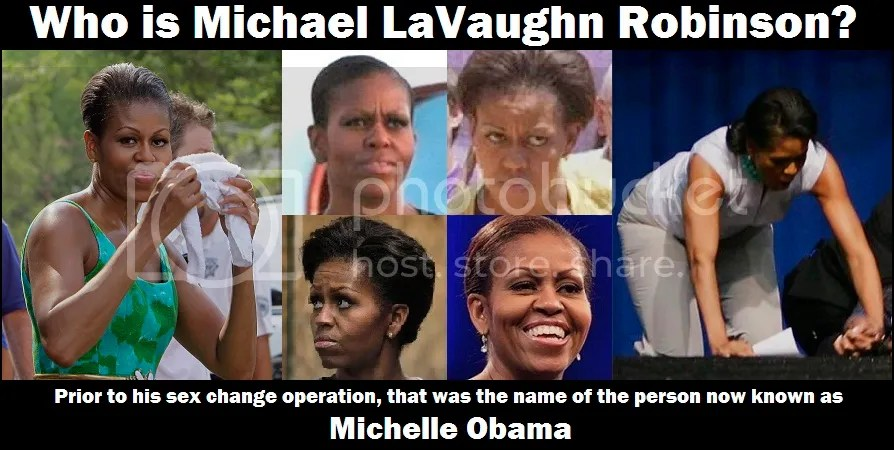 Who Is Michael LaVaughn Robinson Barack Ovomit