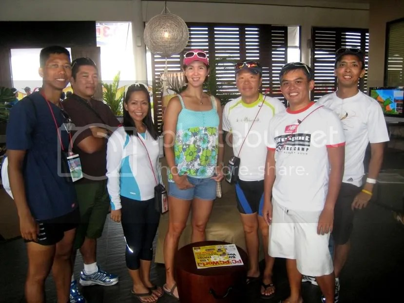 Dennis, Che, Melody, Hans, Coach Melvin, me and Jason with Sen Pia Cayetano