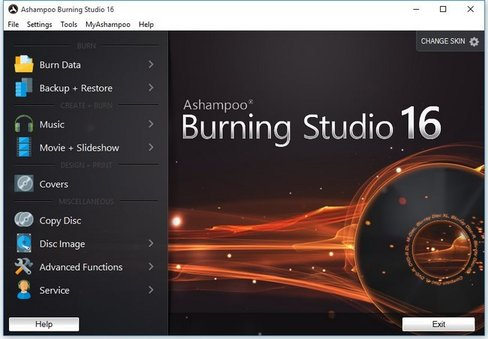 Ashampoo Burning Studio 16.0.4.0 Multilingual