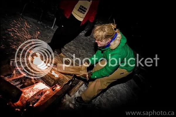 Bonfire at the Grand Lodge Copyright SAphoto