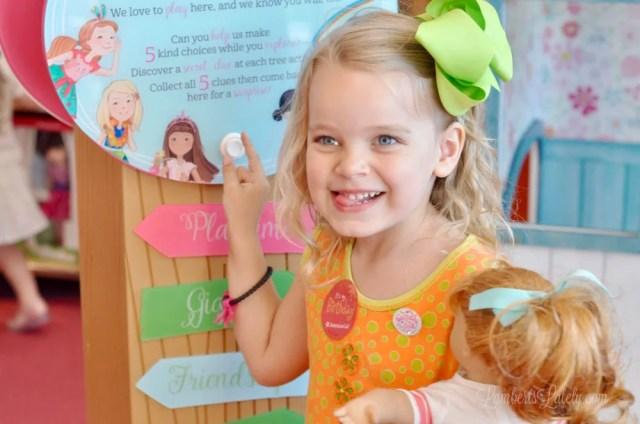 American Girl Store tips    Houston, Texas trip    American Girl birthday    Awesome AG Doll Displays    Maryellen Larkin     Bistro Menu    Doll Hair Salon