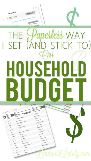 Budgeting Tips || Budget for Beginners || Paperless Budget System || Household Budget Template || Online Budget Organization || Paperless Ideas