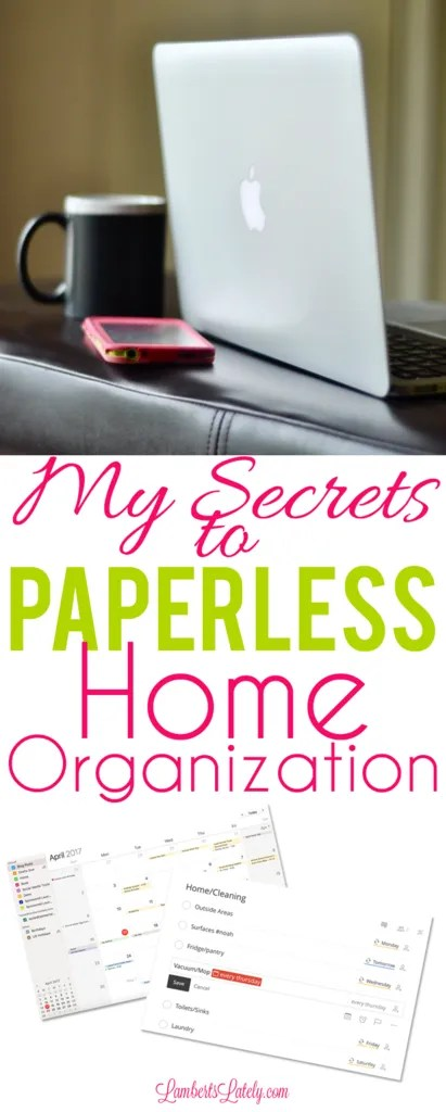 Paperless Home & Office Organization || Tips and Ideas for Using Evernote || Organizing Your Day Through iPhone Apps