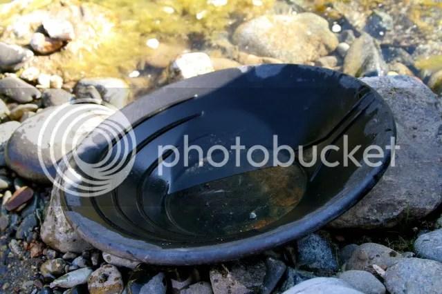 The gold pan