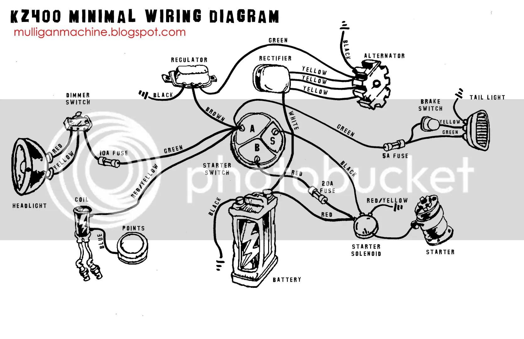 Kz400 Minimal Wiring Diagram