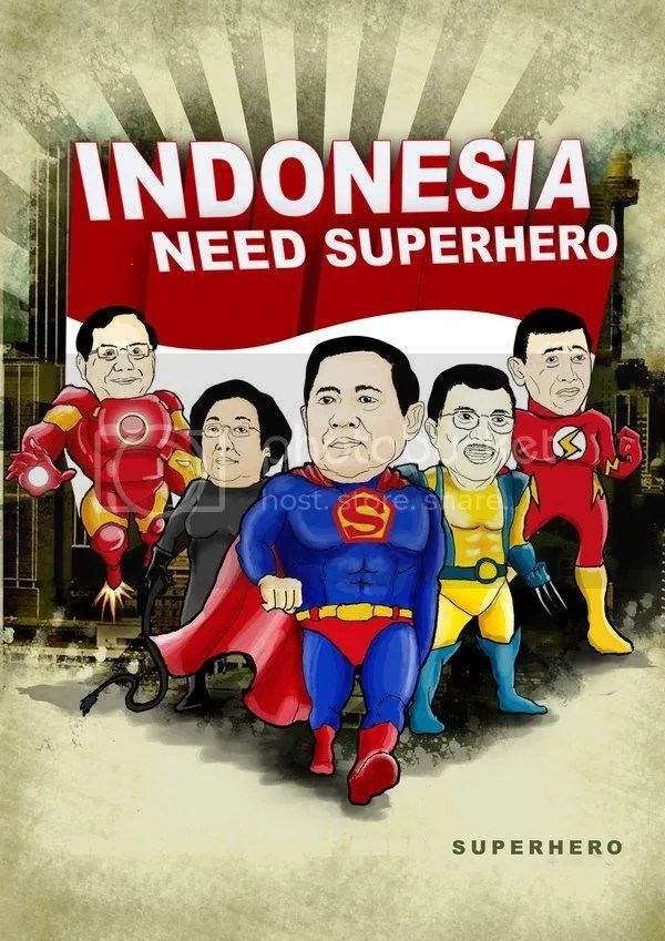 Indonesia butuh Superheroes