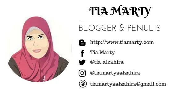 Tia Marty, tiamarty.com, arisan link, blogger perempuan, blogger, scriptwriter