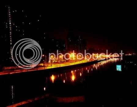 A Corner of Shanghai at night