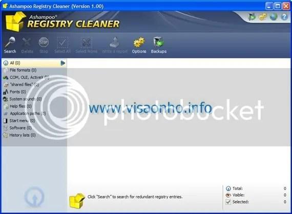 Ashampoo Registry Cleaner với key code miễn phí