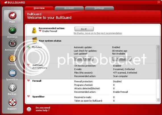 Dùng thử BullGuard Internet Security 8.7 miễn phí 6 tháng