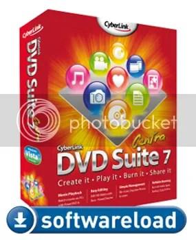 Download Cyberlink DVD Suite 7 Centra với key bản quyền miễn phí