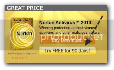 Sử dụng Norton Antivirus 2010 và Norton 360 4.0 miễn phí 3 tháng
