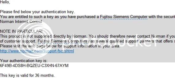 Bản quyền Norman Internet Control miễn phí 3 năm