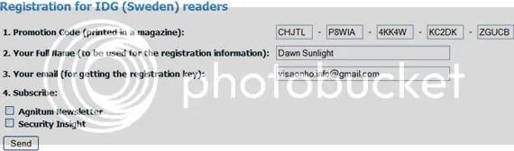 Bản quyền Outpost Antivirus Pro 6.7.3 miễn phí