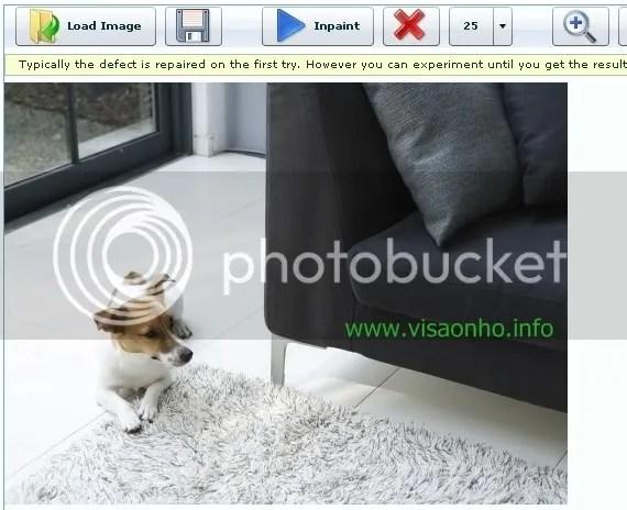 WebInpaint: Xoá bỏ đối tượng trên hình ảnh