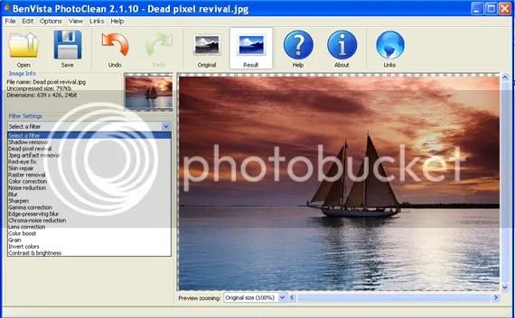 Bản quyền BenVista Photo Clean miễn phí