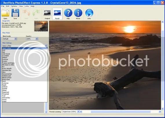Bản quyền BenVista PhotoEffect miễn phí