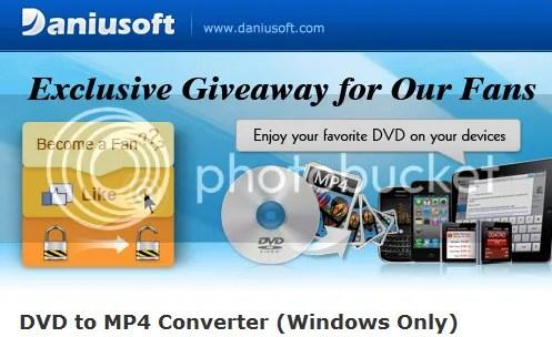 Daniusoft DVD to MP4 Converter: Download phiên bản đầy đủ miễn phí