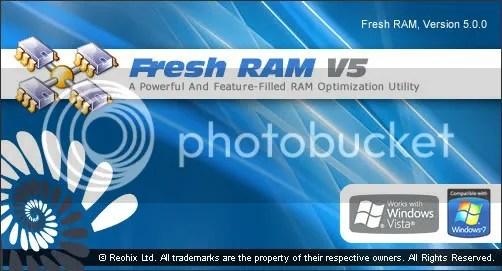 Fresh RAM 5 với key bản quyền miễn phí