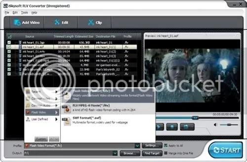 iSkysoft FLV Converter for Windows với bản quyền miễn phí