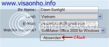Sử dụng SoftMaker Office 2008 có bản quyền