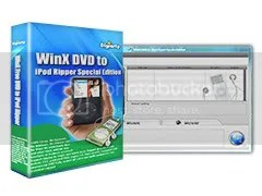 Download WinX DVD to iPod Ripper Special Edition miễn phí