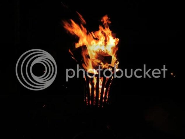 Kaarjesavond, kaarsjesavond 2015, kampvuur, vuur, kerst, Nieuwpoort