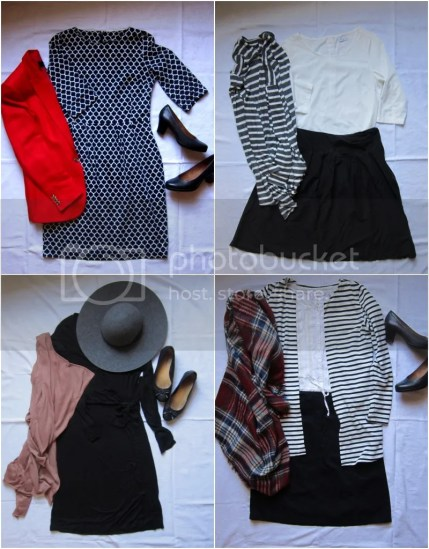 outfits, kerstoutfits, kleding, jurk, rok, blouse, schoenen, h&m, van Haren, naaien, kerst