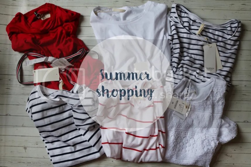 summer, shopping, shoplog, zomer, geshopt, kleding, zomerkleding, streepjes, stradivarius, style