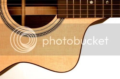 Cut Away Guitar