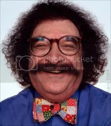 Honey, why are there all these pictures of Gene Shalit on my phone?