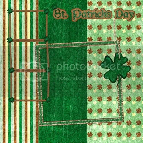 St. Patricks Day Digital Scrapbooking