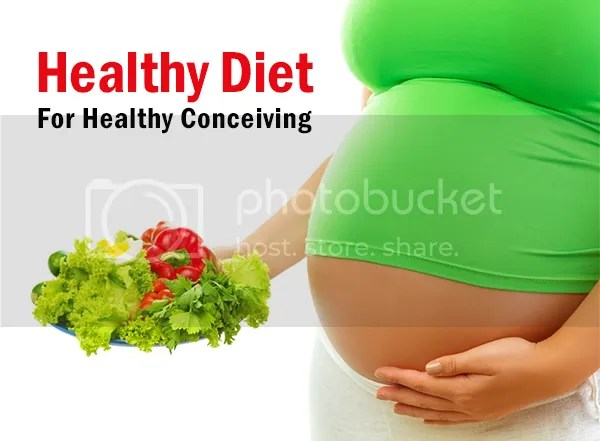 Healthy Diet For Healthy Conceiving