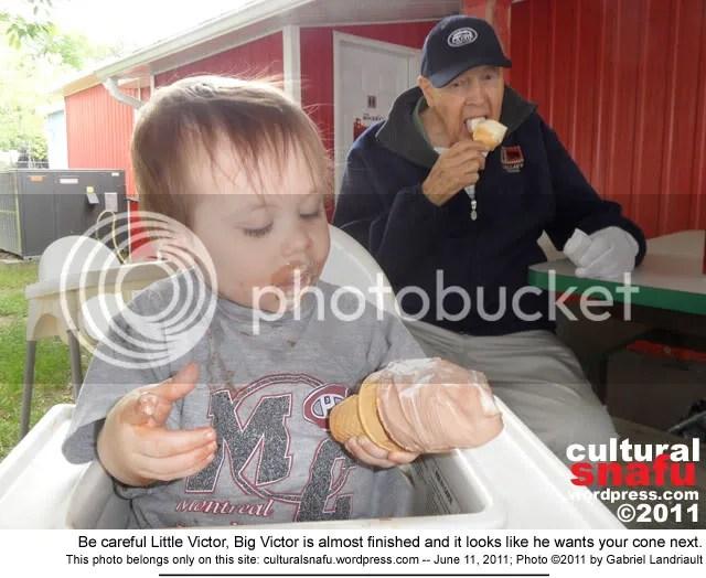 Vankleek Hill Victor ice cream photo