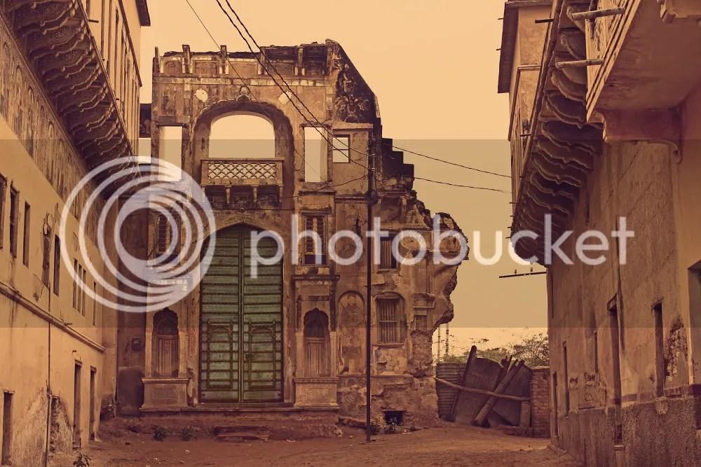 Abandoned Havelis of Churu