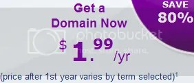 Mua tên miền với giá 1,99$ tại Yahoo!