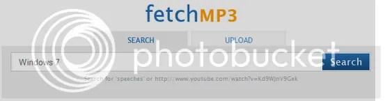FetchMP3: Download và chuyển đổi YouTube Video sang MP3