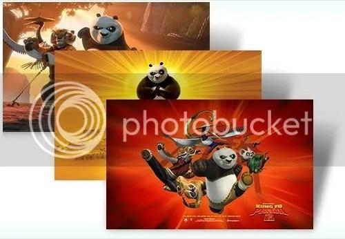 Download theme Kung Fu Panda 2 cho Windows 7