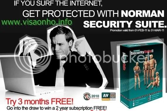 Norman Security Suite PRO: Dùng thử miễn phí 3 tháng