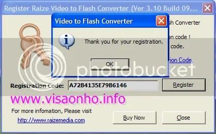 Raize Video to Flash Converter 3.10 miễn phí
