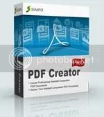 Simpo PDF Creator Pro chỉ miễn phí trong 24 giờ