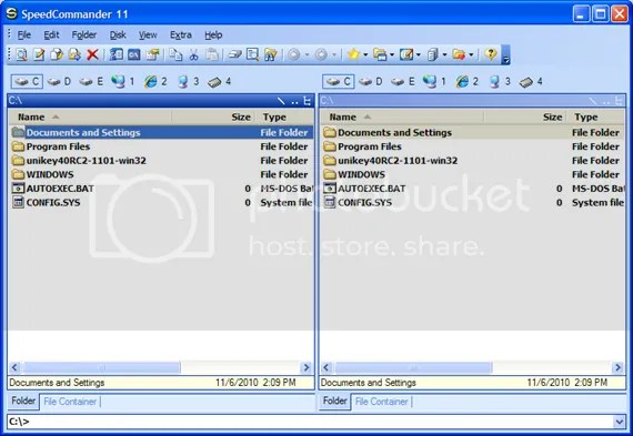 SpeedCommander 11 Interface