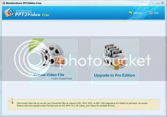 Download Wondershare PPT2Video Free