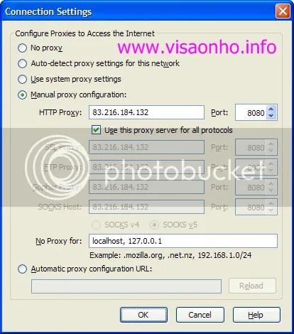 Cách cấu hình proxy trong Firefox, Internet Explorer và Chrome