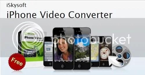 iSkysoft iPhone Video Converter cho Windows và Mac với key bản quyền miễn phí
