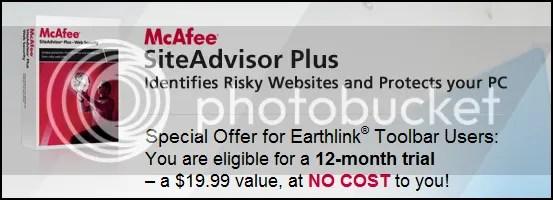 McAfee SiteAdvisor Plus: Key bản quyền miễn phí 1 năm