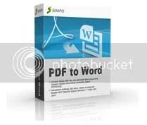 Key code Simpo PDF to Word 3.3