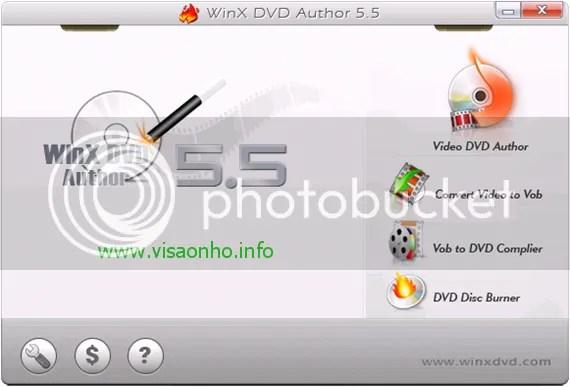 WinX DVD Author v5.5.8: Download miễn phí